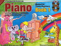 Progressive 18326 Piano Method For Young Beginners Book 1 with CD KPYP1CP