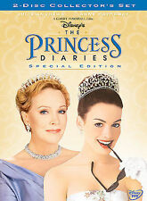 The Princess Diaries (DVD, 2004, 2-Disc Set, Special Edition) Disney NEW SEALED