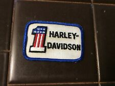 Harley Davidson NOS VINTAGE World/'s Fastest Motorcycle Embroidered Patch