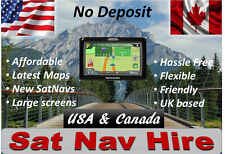SAT NAV HIRE USA + CANADA rental - GARMIN -Up to 14 Day - Amazing Reviews