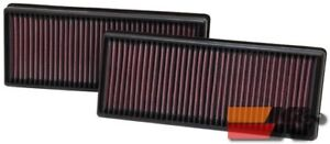 K&N Replacement Air Filter For MERCEDES BENZ CLS550 2012 (2 PER BOX) 33-2474