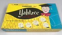 Vintage 1961 Yahtzee Dice Game with Scorecards ES Lowe Milton Bradley No.950