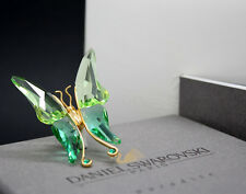 New in box SWAROVSKI Paradise insect bug BUTTERFLY ASTARA Light Emerald 250 464
