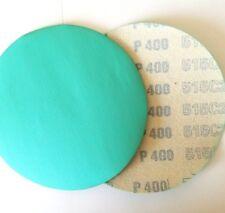 """5"""" Sanding Disc 10 Pack 400 Grit Hook and Loop Film"""