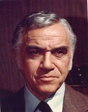 LORNE GREENE PORTRAIT GRIFF TV SHOW ORIGINAL COLOR 1973 ABC TV PHOTO