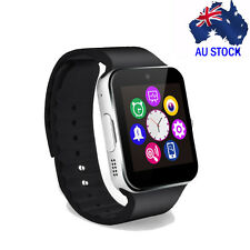 Bluetooth Silver Smart Watch Touch screen Phone Mate GPRS for IOS Android IPhone