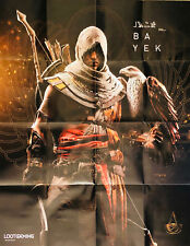 ASSASSIN'S CREED BAYEK Poster Loot Gaming Crate STEALTH December 2017