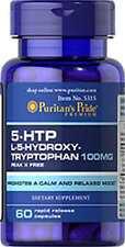 Puritans Pride 5-htp 100mg x 60 Caps-Serotonina/Antidepressivo/Serotonina