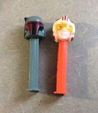 STAR WARS PEZ DISPENSER Loose Boba Fett & Luke Skywalker