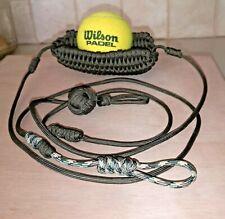 Ball throwing, Shepherd sling, High quality, handmade, Sport, Paracord 550