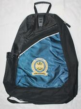 PGA Tour McGladrey Team Championship Black/Blue Sling style Backpack RARE Golf