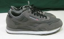 new Reebok Classic Nylon j21418 Suede Grey / Black / White Casual Shoe Size 10