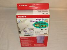 Genuine Canon Color Image Scanner Cartridge IS 22 IS-22 BJC 2000 4300 4400 4650