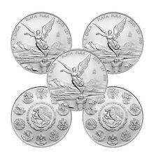 2016 1 oz Mexican Silver Libertad Coin (BU, Lot of 5)