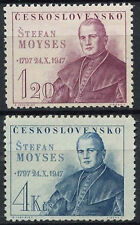 Mint Hinged Czech & Czechoslovakian Postage Stamps