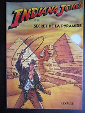 "Bande dessinée ""Indiana Jones"" Renault"