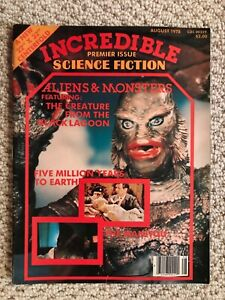 Incredible Science Fiction Magazine #1 ~ NEAR MINT NM, August 1978 HUGE Poster