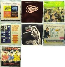 Vintage Collectible Movies Music Albums - Lot of 7 LPs