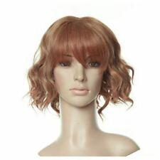 Brown Short Length Curly Anime Costume Cosplay Wig