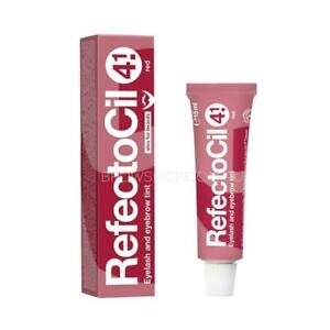 REFECTOCIL Eyelash Brow Tint Colour #4.1 RED 15ml Genuine Aust Item REFECTOCIL
