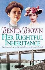 Her Rightful Inheritance by Benita Brown (Paperback, 2003)