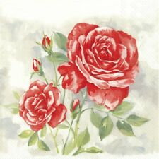 rose Vintage roses 20x Lunch Paper decoupage napkins shabby chic 552P