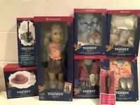 American Girl Doll Tenney Grant Doll Collection New In Boxes NRFB