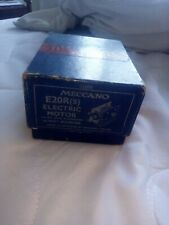 Meccano E20RS Motor NEW in box !!.1950's ..Excellent !!