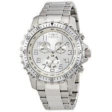 Invicta Specialty Chronograph Silver Dial Mens Watch 6620