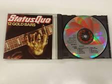 STATUS QUO 12 GOLD BARS CD