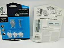 Tool Free Wall Picture Hangers 20 lb Two Pack