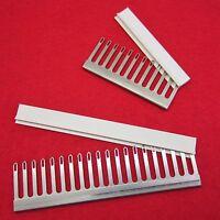 NEU Sockenset 6.5mm - 2x Deckerkamm mit Kappe für Strickmaschinen Transfer Combs
