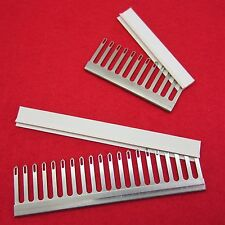 NEW Sock set 6.5mm - 2x Decker comb with Cap for knitting machine Transfer Combs