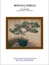 BONSAI CAMELIA - cross stitch chart