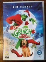 How The Grinch Stole Christmas DVD 2000 Dr Seuss Film Classique Avec Jim Carrey