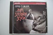 Opera to Die For Zum sterben schön (Ameling, Behrens...- CD Philips PMDC Germany