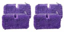 Shark Steam Mop Pocket Coral Compatible Pads Covers S3701 SM200 S4501 - 4 Pack