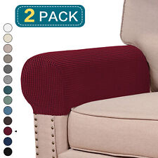 Sofa Armchair Covers Stretch Chair Arm Protector Cover Couch Recliner Armrest Us