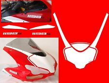 Kit adesivi per cupolino Ducati 848/1198 replica S Corse