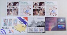 LOT OF 5 SOUVENIR SHEETS; SCOTT #2837, #2840 (2), #4075 PHILATELIC EXPO & #4123