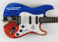 John Frusciante Signed Guitar JSA COA Custom 1/1 Graphics! Red Hot Chili Peppers