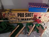 Vintage Game Marx Pro Shot Golf
