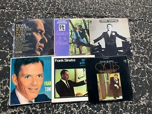 Vinyl Lot of 6 vintage record album collection (LOT RH102) FRANK SINATRA