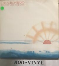 THE ALBION BAND: Rise Up Like The Sun (Harvest) 1978 LP Ex Con