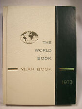 World Book Encyclopedia Yearbook - 1973 - Review of Events in 1972 Free Shipping