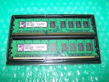 4GB RAM Kingston DDR3-1066 PC3-8500E sin búfer ECC (2GB) 2x para PC/Apple