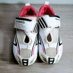 Shimano Women's Pedaling Dynamics WT60- Pink And White Size 5.5