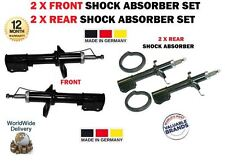 FOR SUZUKI BALENO 1995-2002 2 XFRONT 2X REAR LEFT + RIGHT SHOCK ABSORBER SHOCKER