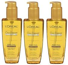3pk  L'Oreal Paris Hair Expertise OleoTherapy All Perfecting Oil Essence, 3.4
