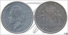 España - 5 pesetas año  1893 (*18*93) PGV  / MBC / VF